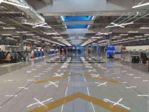 セントレア第2ターミナル出発ロビー
