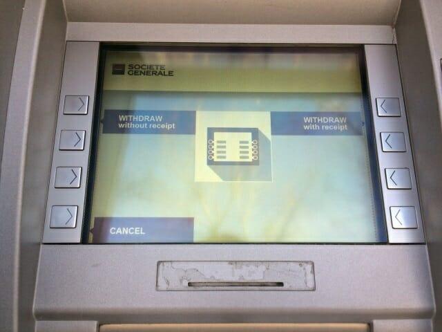 写真あり】フランスのATMを使って現地通貨ユーロに両替(現金引き出し ...